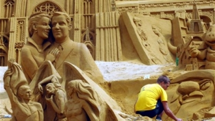 Se la scultura di sabbia è un'opera d'arte